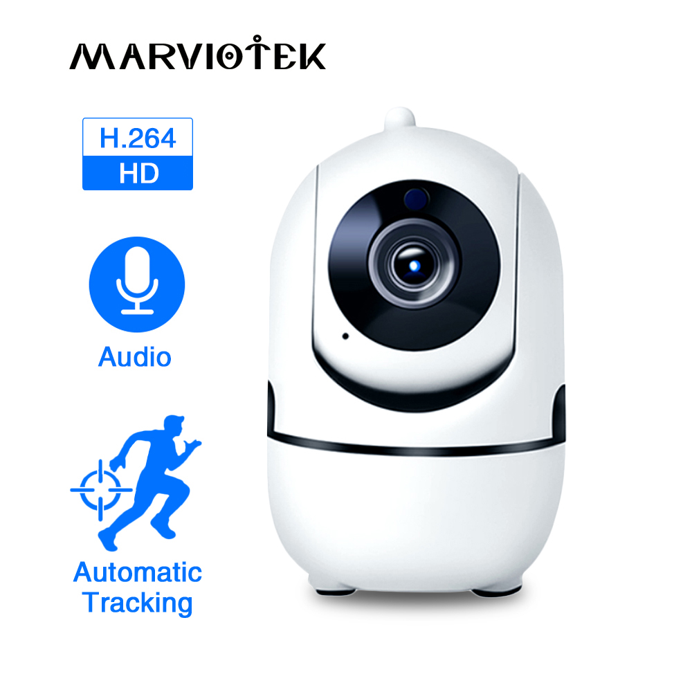 1080P Full HD Wireless IP Camera Wifi IP CCTV Camera Wifi Mini Network Video Surveillance Auto Tracking Camera IR Night Vision-in Surveillance Cameras from Security & Protection
