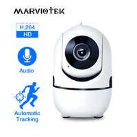 1080P Full HD caméra IP sans fil Wifi IP caméra de vidéosurveillance Wifi Mini réseau Surveillance vidéo caméra de suivi automatique IR Vision nocturne
