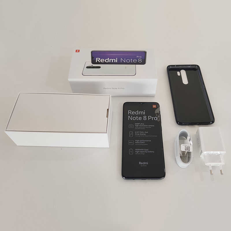 Globale Versione Xiaomi Redmi Nota 8 Pro 6GB 64GB/128GB Smartphone 64MP Quad Camera Helio G90T 4500mAh Batteria 18W di Carica Veloce NFC