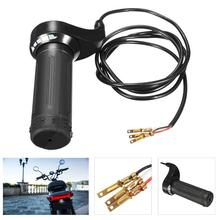 3 Wire Twist Throttle Grip 24V 36V 48V for Electric Scooter Pocket Bike Chopper Car Accessories