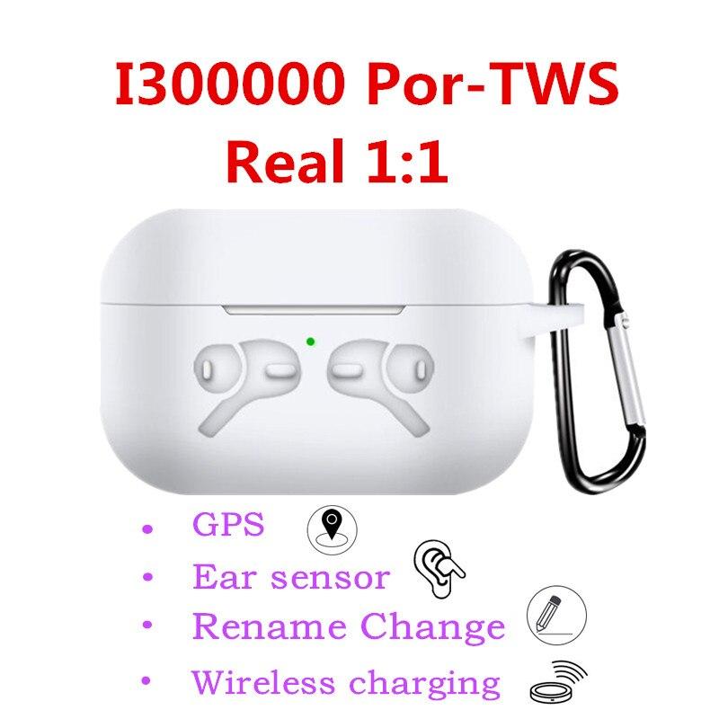 I300000 Pro TWS Bluetooth Earphones Change Name Positioning Earbuds Earphones PK W1 Chip I100000 I200000 I500 I9000 Tws Pro