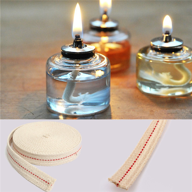 One Roll Candle Wick Hemp Core Pure Bee Wax For Candle Making DIY Oil Lamp 61M