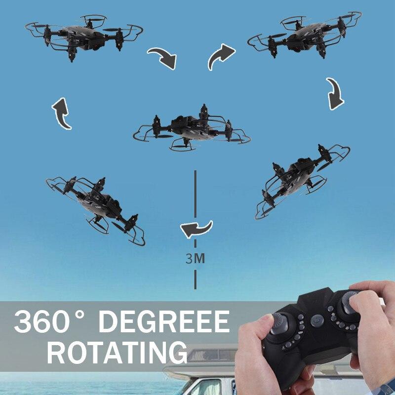 Nowy dron 3D 360 stopni z kamerą 640/720/1080ip HD optyczne pozycjonowanie przepływu Quadrocopter wysokość trzymaj Quadcopters Helicopter