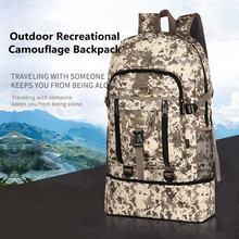 Большой Камуфляжный военный рюкзак 40 90 л водонепроницаемый
