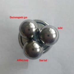 DIY самодельный пусковой корпус электромагнитной оболочки шар Электромагнитная катушка пистолет