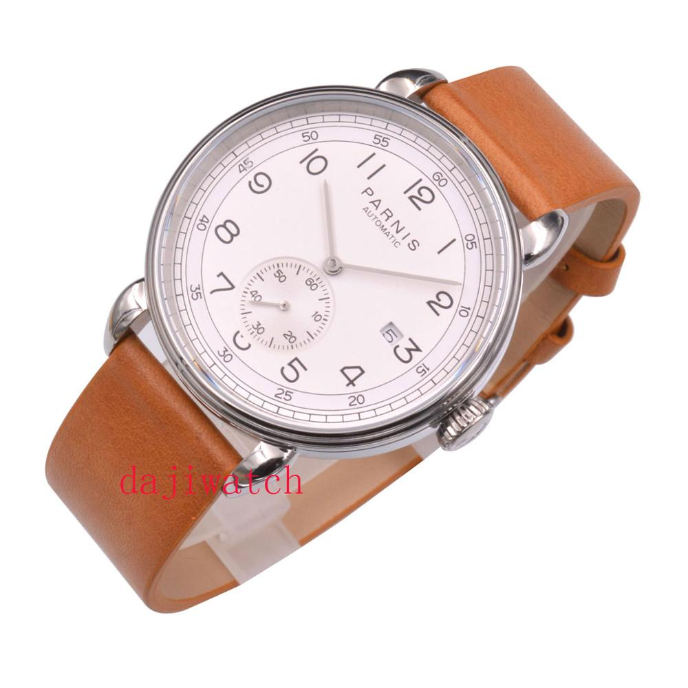 2019 manufactures new Parnis 42 mm316L solid stainless steel case luxury automatic movement mechanical watch|Mechanical Watches| |  - title=