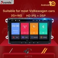 2 Din Android 10 Car radio GPS Navigation For VW Passat B6 amarok volkswagen Jetta T5Skoda Octavia 2 superb2 golf 5 6 Multimedia