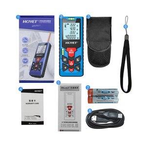 Image 5 - Laser Distance Meter electronic roulette digital tape rangefinder trena metro laser range finder measuring tape