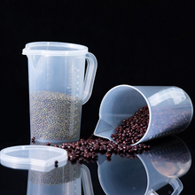 Container-Tool Measuring-Cup Graduated Plastic Kitchen Volumetric Transparent 1000/2000ml