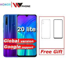 global version honor 20 lite Mobile Phone 6.21 inch Android