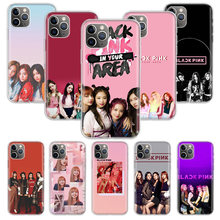 BlackPink Black Pink Kpop Case for Apple iphone 11 Pro XS Max XR X 7 8 6 6S Plus 5 5S SE 10 Ten Gift Silicone Phone Cover Coque(China)
