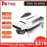 FIMI-Dron X8 Mini cámara 8KM FPV 3 ejes cardán HD4K Cámara GPS RC Quadcopter RTF 250g-class