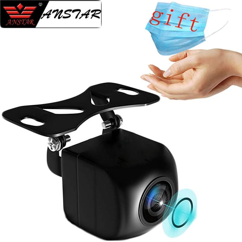 Night Vision Rear View Camera Fish Eye Wide Angle Lens Waterproof Backup Camera 4 Pin For Android Mirror Parking Dash Cam Vehicle Camera     - title=
