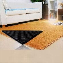 Pads Grip Non-Slip-Mats Grippers-Skid Fixed-Carpet Triangular Sticker Rug Floor-Pad Washable