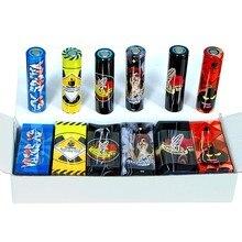 600 sztuk kolorowe 18650 baterii naklejki 18650 baterii Wrap skóra ochronna rękaw folia termokurczliwa bateria skórka naklejka