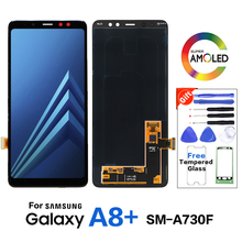 Original Amoled For Samsung Galaxy A8+ A730 SM A730F LCD Screen Display Replacement for Samsung A8+ SM A730X LCD display screen