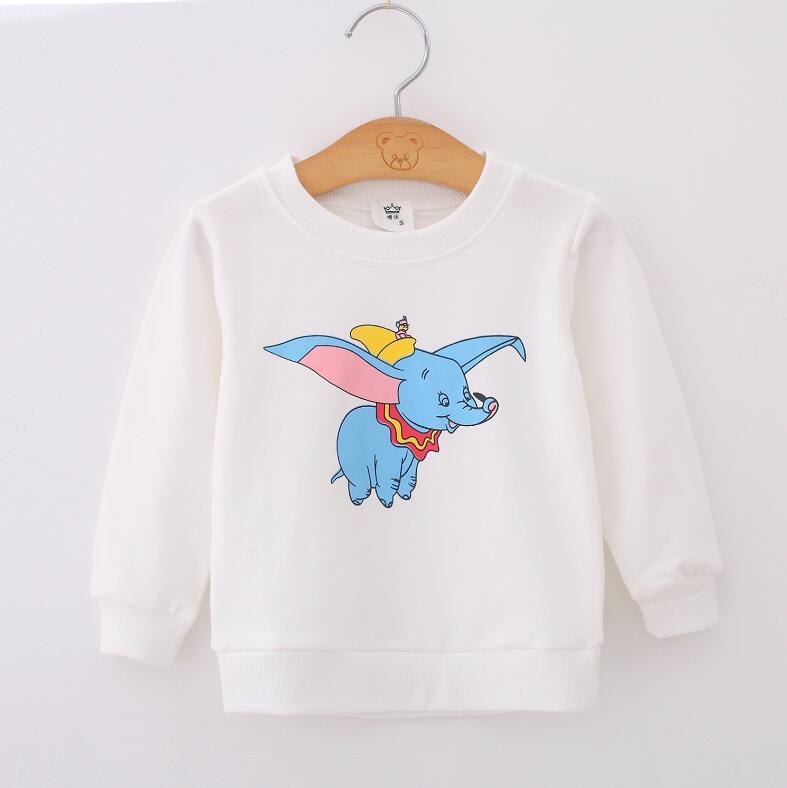 2019 Unisex Kids Baby Boys Girls Toddlers Hoodies Cartoon Tracksuit  Cute Sweatshirts Boys Sweatshirt