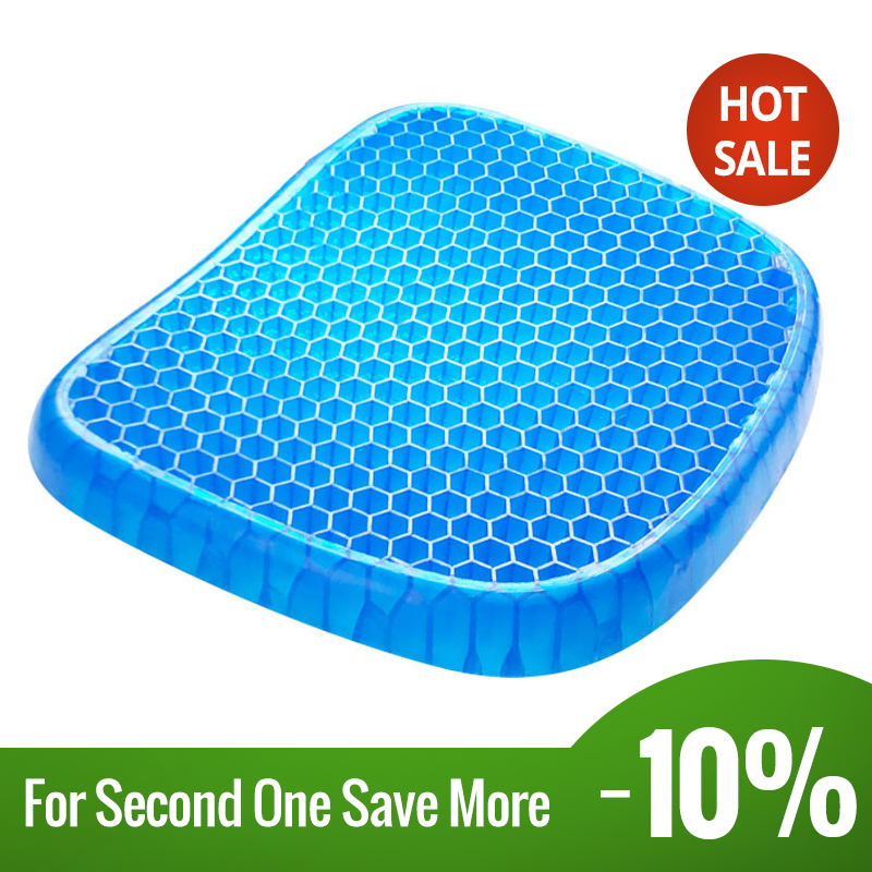 1 PCS Breathable Ass Cushion Ice Pad Gel Pad Non-Slip Wear-Resistant Durable Soft And Comfortable Cushion For Pressure Relief(China)