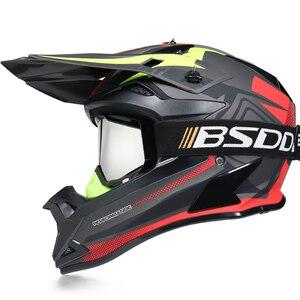 Image 2 - Motosiklet yetişkin motocross Off Road kask ATV kir bisiklet yokuş aşağı MTB yarış kask çapraz kask capacetes