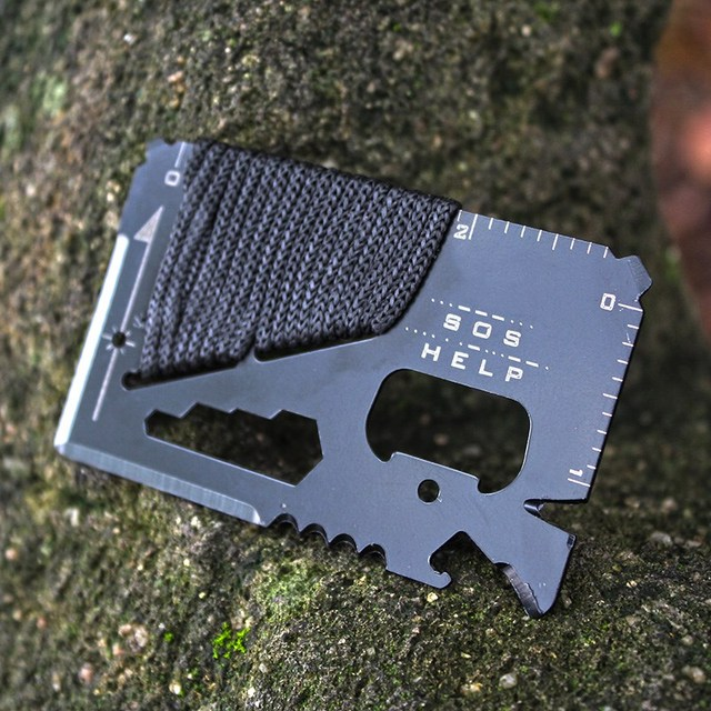 Multifunctional Tactical Credit Card Knife 6