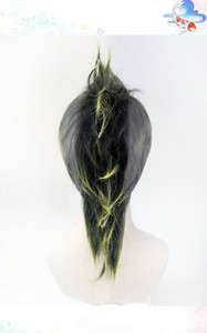Image 4 - Anime Demon Slayer Kimetsu nie Yaiba Shinazugawa Sanemi peruka do Cosplay Halloween włosy + darmowa peruka Cap
