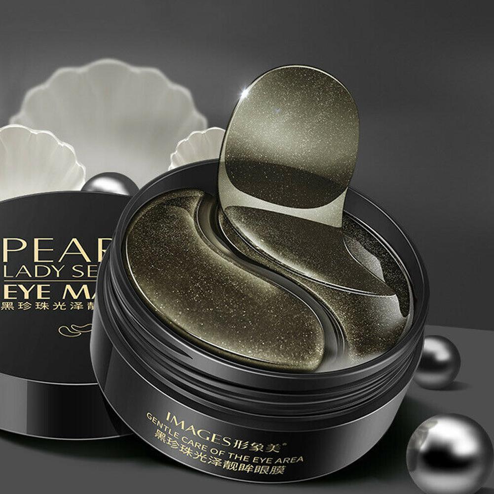 Black Golden Eye Masks 60pcs Hydrogel Patches Repairing Wrinkle Remover Dark Circle Anti Age Moisturizing Under Eye Mask