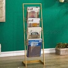Magazine-Shelf Book Newspaper No Iron Data-Storage And Nordic Simple