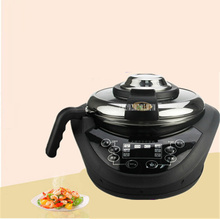 лучшая цена 110V Automatic Cooking Machine 220V Volt 1500W 3.5L Intelligent Cooking Pot Wok Robot Multi Cooker Frying Pan