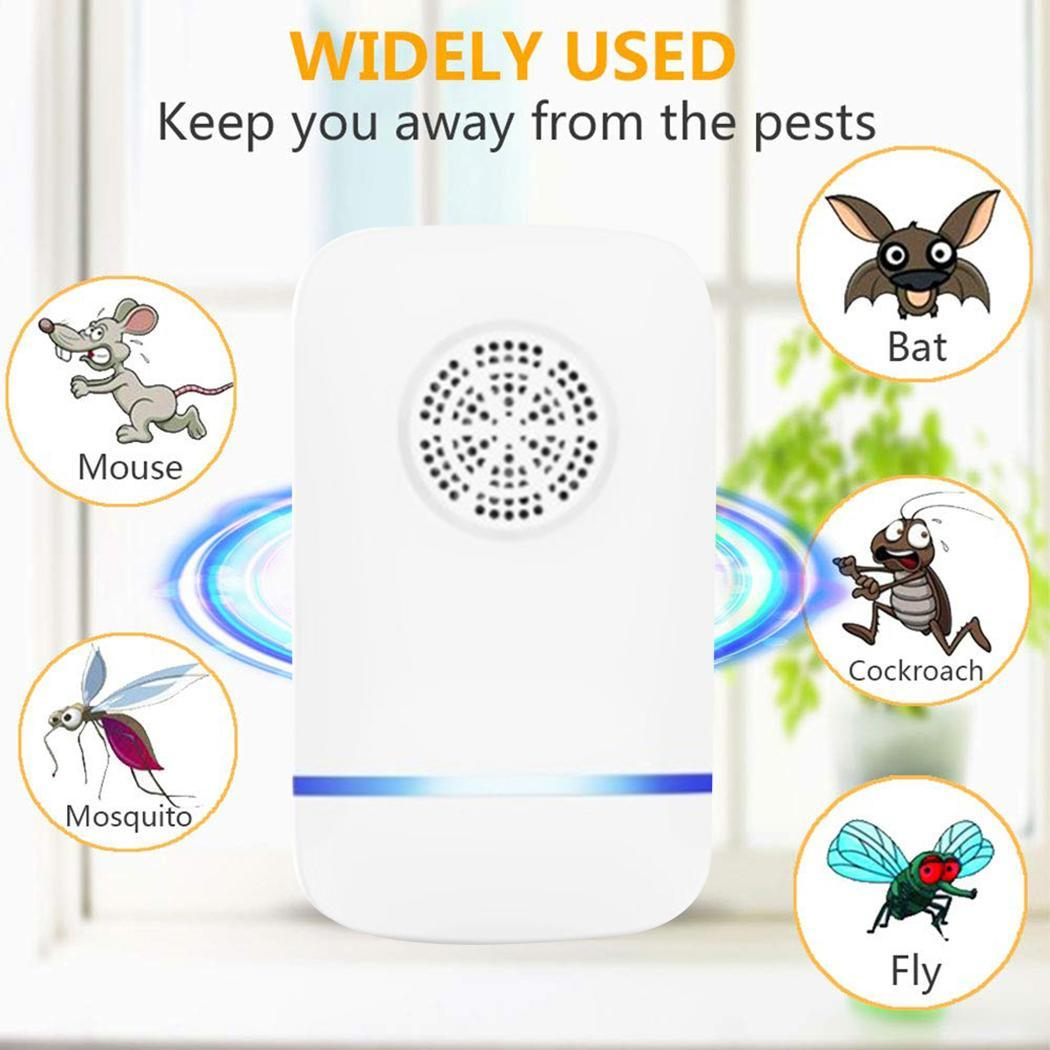 Pest Repeller Mice Ultrasonic Household 5W Multi-Function 55khz 20khz AC 180v-250v/50hz