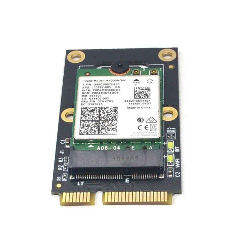 M.2 Wifi адаптер M.2 NGFF для Mini PCI E адаптер для M.2 Wi Fi Bluetooth плата Беспроводная Wlan карта Intel AX200 9260 8265 8260 для ноутбука|Сетевые карты|   | АлиЭкспресс