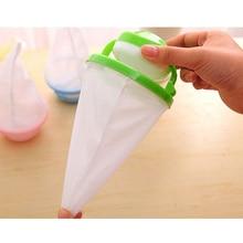 6pcs Washing Machine Filtration Bag Laundry Filter Bag Net Floating Lint Hair Catcher Mesh Pouch (Random Color)