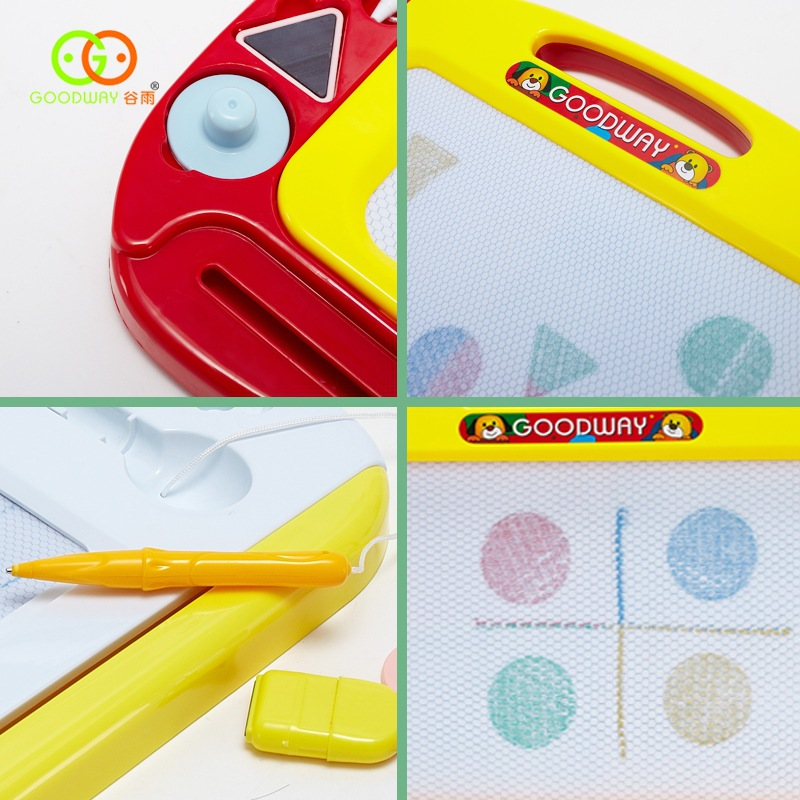 Baby Wrench Child-Educational Drawing Board Handwriting Board Sketchpad Children Graffiti And Mortar Magnetic Color Painted