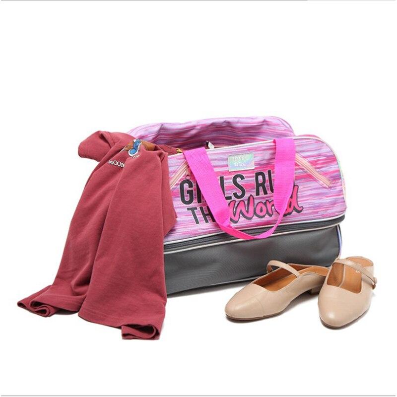 Sports Bag Short-distance Travel Bag Female Portable Large-capacity Luggage Bag Portable Boarding Folding Travel Bag Gym Bag