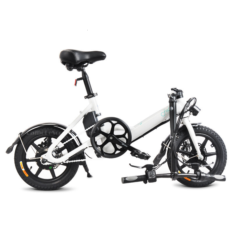Fiido D3 Mini Electric Bike Two Wheels Electric Scooters 14 Inch 36V 250W Adults Portable Foldable Electric Bicycle With Seat    (2)
