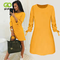 Winter Büro frauen Roten Kleid Herbst Vintage Plus Größe Mini Langarm Kleider Tuch Vestidos Ropa Mujer Robe Hiver femme