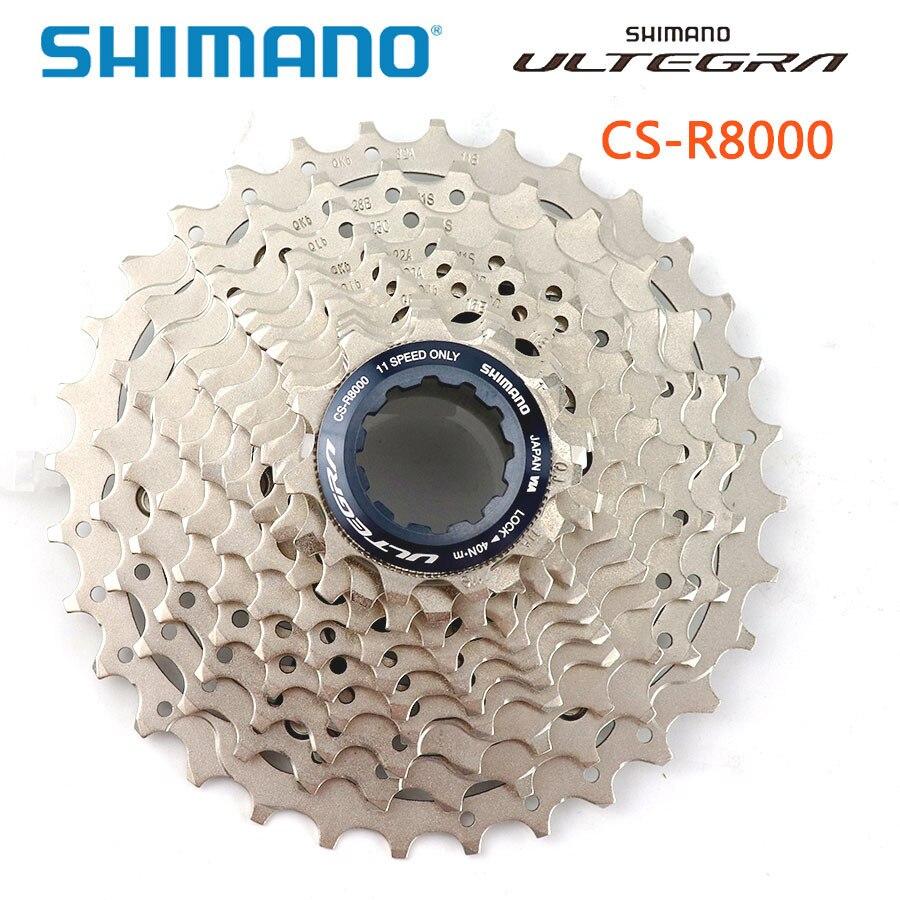 SHIMANO CS-R8000 route vélo roue libre 11 vitesses R8000 Cassette pignon 5800 105 volants moteurs 11-32T 11-30T 11-28T 11-25T