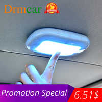 Universal-Automobile Auto Innen lesen licht Dome USB Lade Dach Decke Magnet Lampe Touch Typ Nacht Licht Stamm Drl