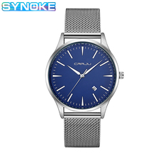 SYNOKE Mens Watches Top Brand Luxury Quartz Wristwatches 201