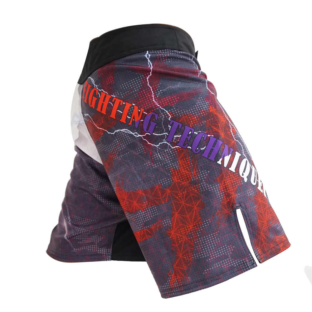MMA السراويل الرجال الملاكمة القتال قصيرة الجمجمة تصارع ساندا الملاكمة التايلاندية السراويل التايلاندية كيك بوكسينغ