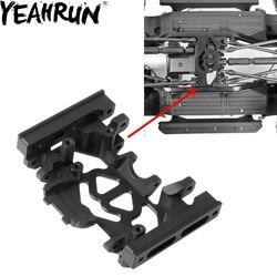 YEAHRUN เกียร์กล่องเกียร์ CNC อลูมิเนียม 1:10 แผ่นลื่นไถลสำหรับ TRX4 RC ROCK Crawler