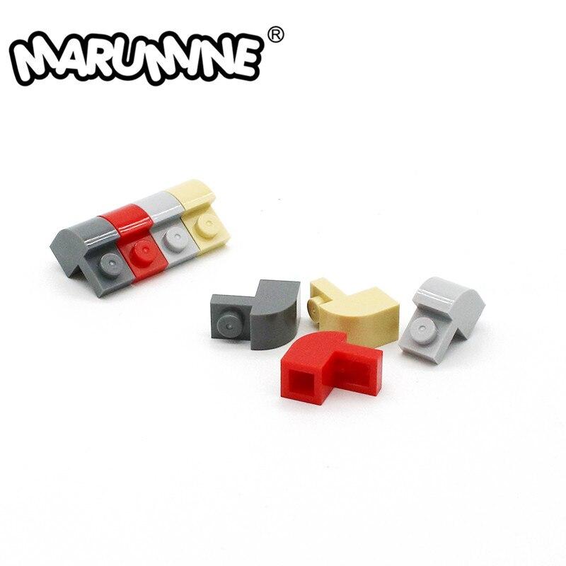Марумин кирпич с аркой 1x2x1 1/3 изогнутый Топ DIY обучающие строительные блоки детали 6091 развивающие технические детали игрушки