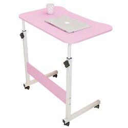 Biurko komputerowe leniwy stolik nocny pulpit domu proste biurko proste do sypialni łóżka mały stół może poruszać się w górę iw dół