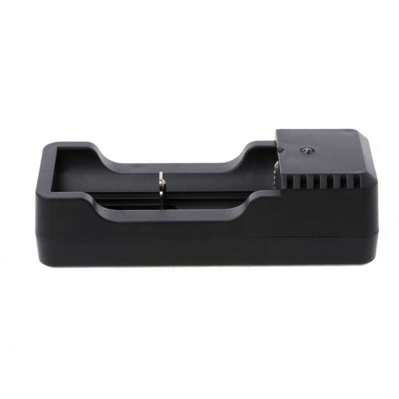 Single Charging Slot Charger With USB Cable For 18650 16340 14500 Li-ion Battery