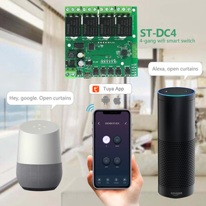 Image 5 - Tuya Wifi ממסר 12v מודול 4CH אלחוטי מתג Smartlife APP שלט חכם טיימר לבית חכם עם Alexa google בית