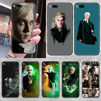 Draco Malfoy Phone case For Xiaomi Mi Max Note 3 A2 A3 8 9 9T 10 Lite Pro Ultra black trend funda painting coque silicone image