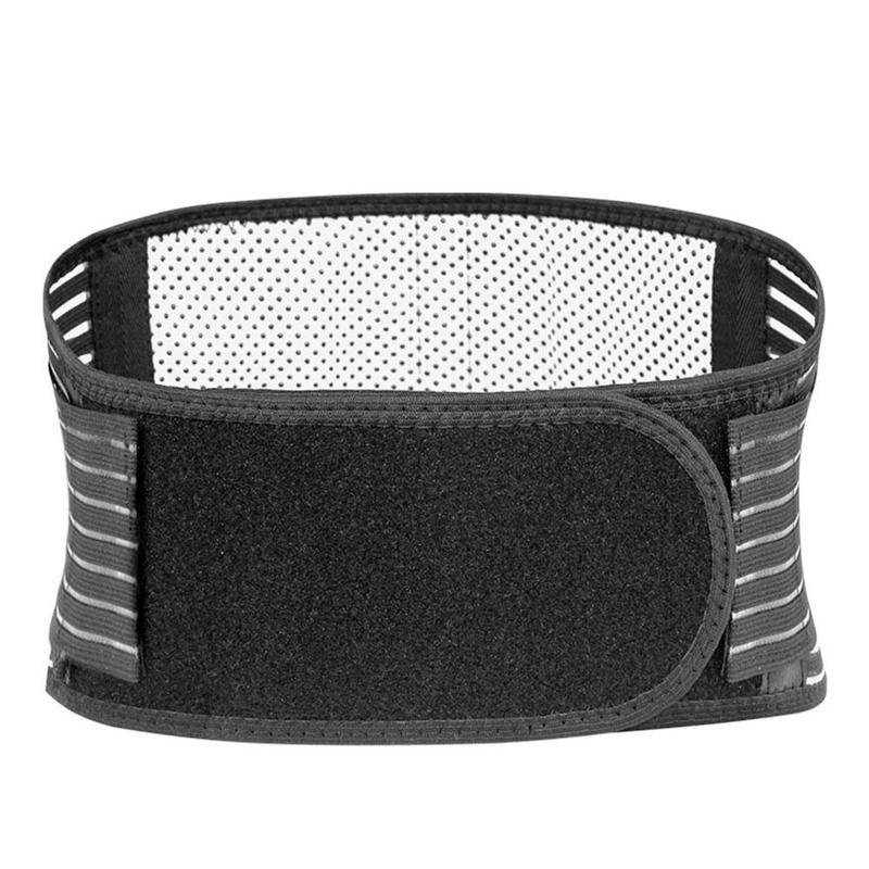 Adjustable Tourmaline Self heating Magnetic Therapy Back Waist Support Belt Lumbar Brace Massage Band Health Bone Care Supplies