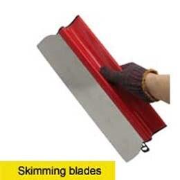 polegadas para ferramentas concretas da espátula