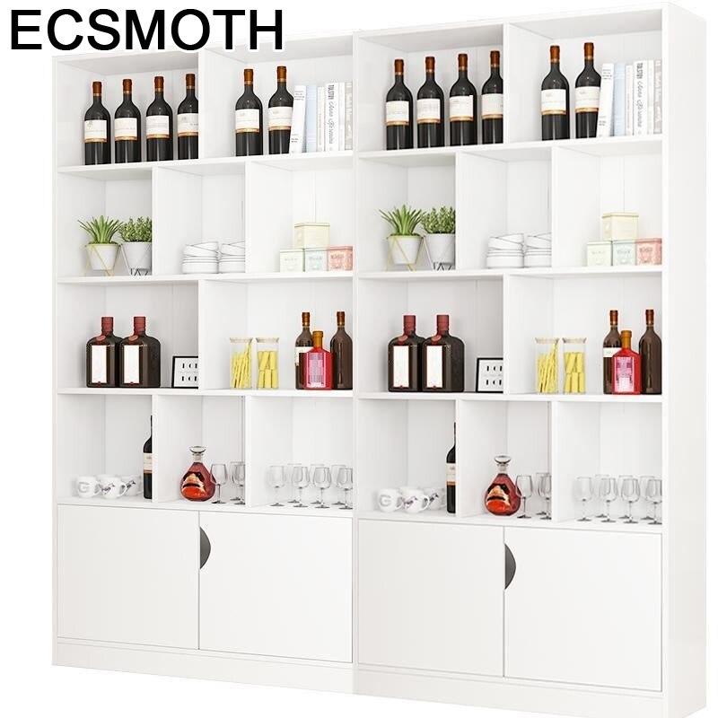 Sala Cocina Meja Desk Gabinete Vetrinetta Da Esposizione Table Cristaleira Storage Shelf Mueble Bar Furniture Wine Cabinet