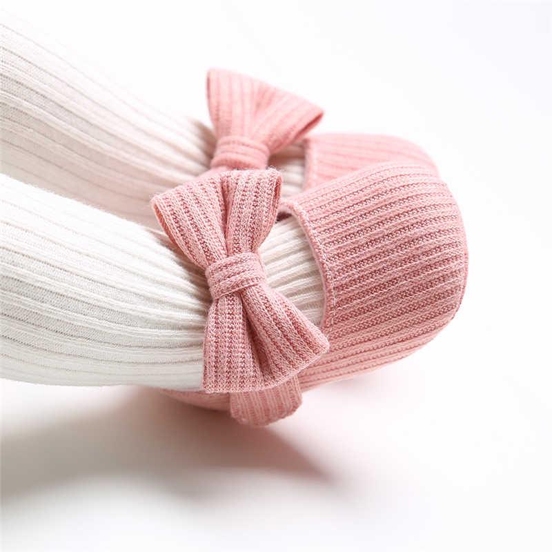 0-18m recién nacido Kdi bebé niña Zapatillas princesa zapatos elegante Bowknot lindo encantador dulce niños zapatos