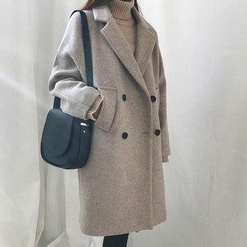 2020 Fashion Female Women's Clothing New Slim Style In Korean Version Long Sleeve Coats and Jackets zawfl fashion coats female winter korean style double row beading long sleeved slim tweed women cardigan jackets